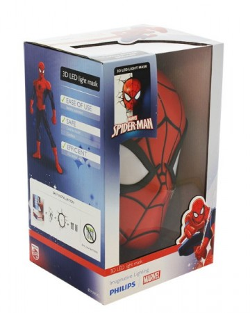 Spiderman 3D Vegglampe