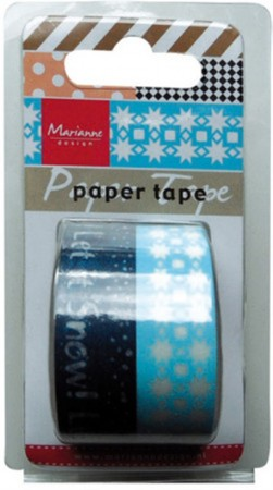 Marianne Design – Paper tape – Let it snow