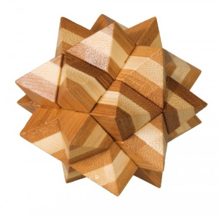 Bamboo Puzzle (STOR) - Stjerne