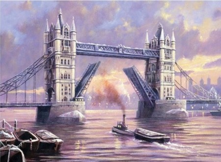 Paint By Numbers - Tower Bridge 40x50cm