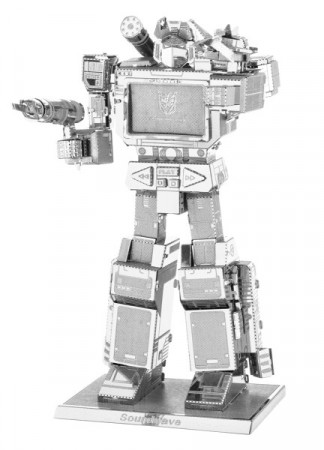 Puslespill 3D metall - TRANSFORMERS - Soundwave