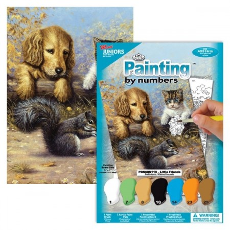 Paint by number (MINI) - Little friends