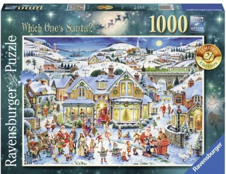 Ravensburger puslespill - Which One`s Santa 1000