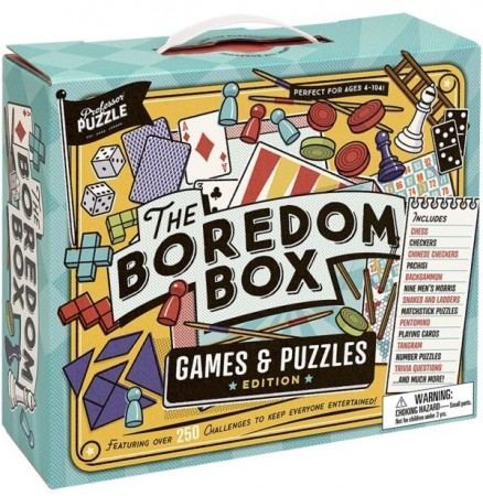 The great boredom box - Brettspill / Bordspill / Pusler / Oppgaver