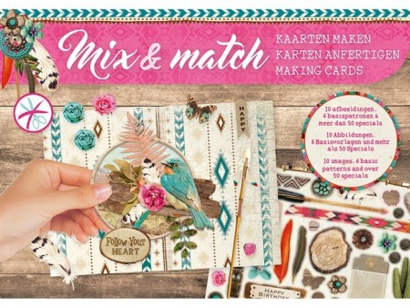 Studiolight Mix & Match Making Cards A5 – Follow your heart