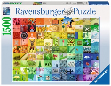 Ravensburger puslespill -  99 colours 1500
