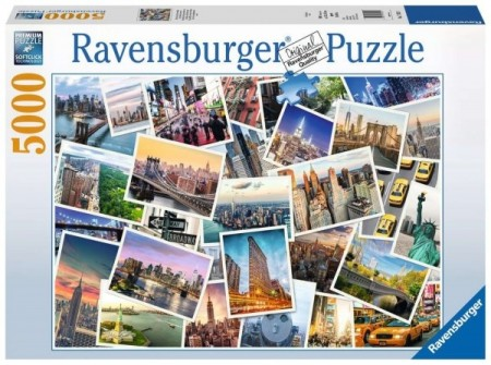 Ravensburger puslespill - New York City 5000