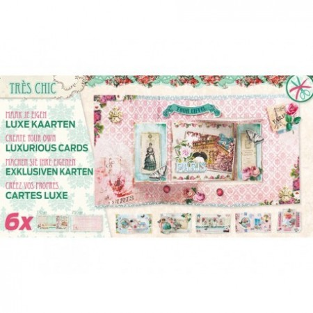 Studiolight Luxurious Cards x6 – Très Chic