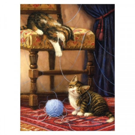 Paint By Numbers - Playful Kittens