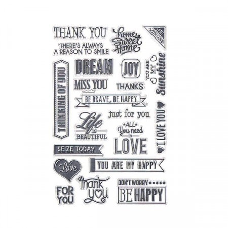 Stempel - Clear stamp - Love & dream