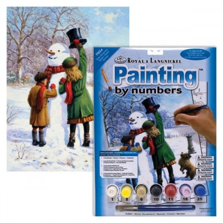 Paint By Numbers - Vinter drømmeland