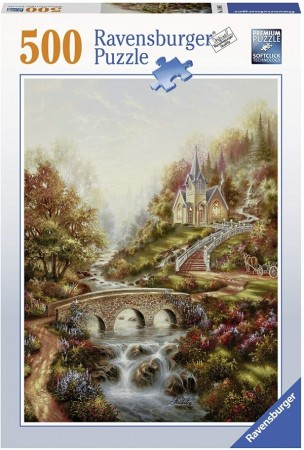 Ravensburger puslespill -  Golden time 500