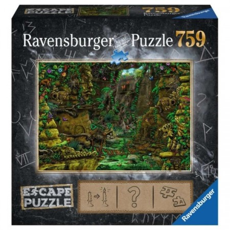 Ravensburger puslespill - Escape the temple 759
