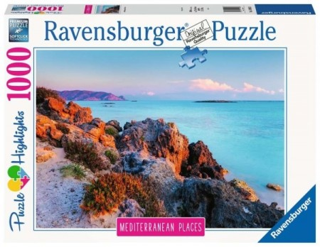 Ravensburger puslespill -  Mediterranean Places 1000