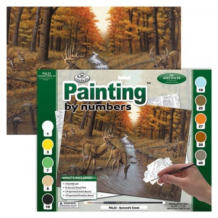 Paint By Numbers - Symond`s creek
