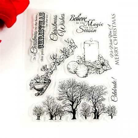 Stempel - Clear stamp - Jul