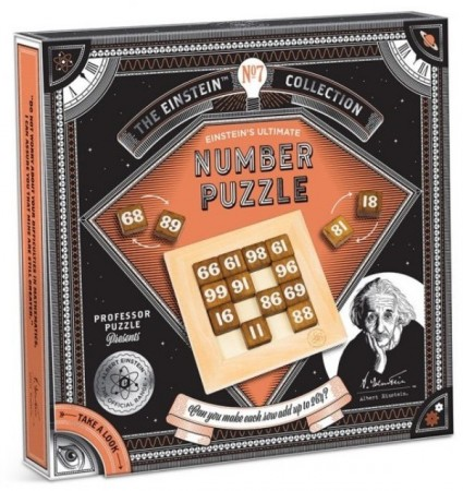Einstein`s Ultimate Number Puzzle 5/5