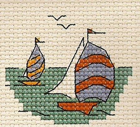 Mini korssting - Yacht race