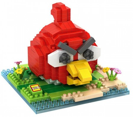 Angry Birds Byggeklosser - Red