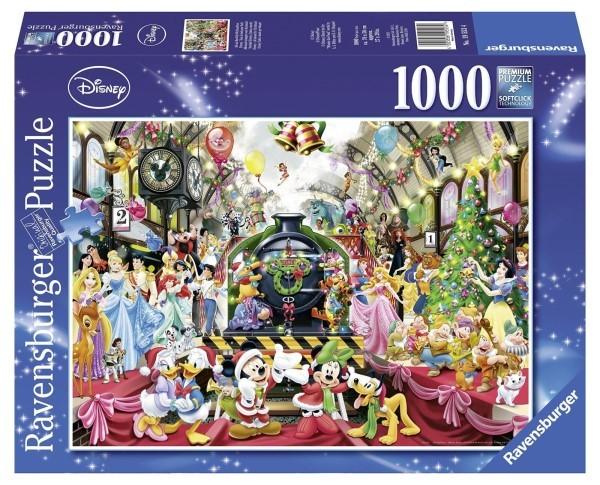 Alle nye Ravensburger puslespill - Disney christmas 1000 | BRAOGBILLIG.NO DP-97