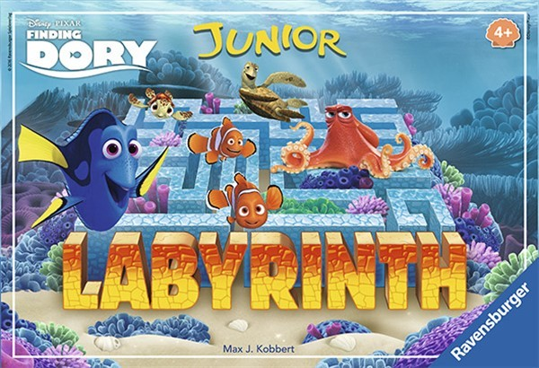 Labyrinth Junior - Finding Dory barnespill