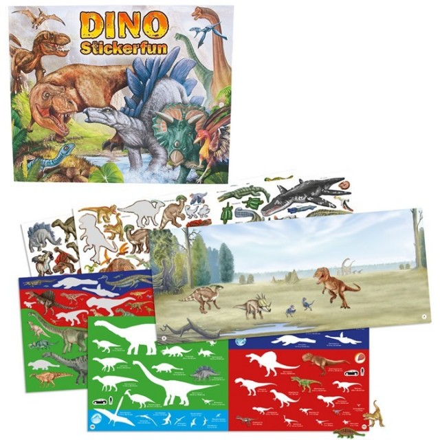 Dino sticker fun album