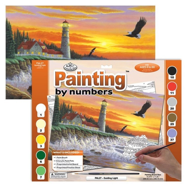 Paint By Numbers - Guiding light