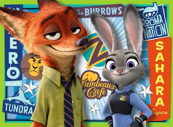 Puslespill - Zootropolis