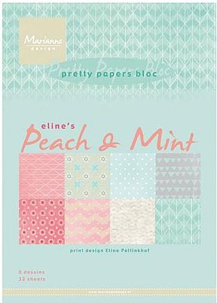 pb7047 - eline´s peach and mint