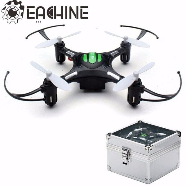 Eachine H8 mini drone med Aluminiums box