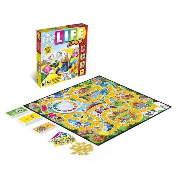 Game of life junior - Hasbro spill
