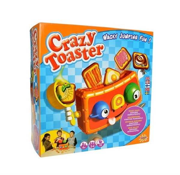 Crazy toaster - spill - Norsk