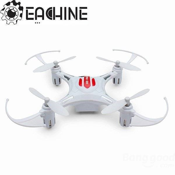 Eachine H8 mini drone - Hvit