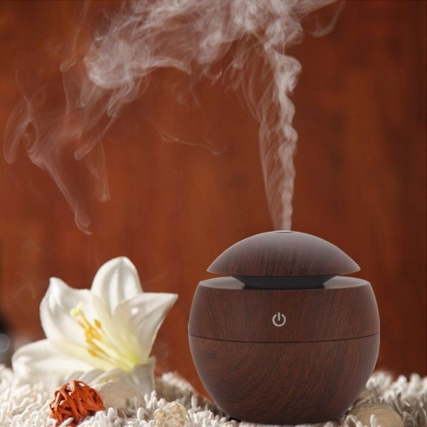 Aroma diffuser med LED lys
