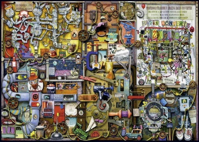 Ravensburger 1000 - Inventors cupboard
