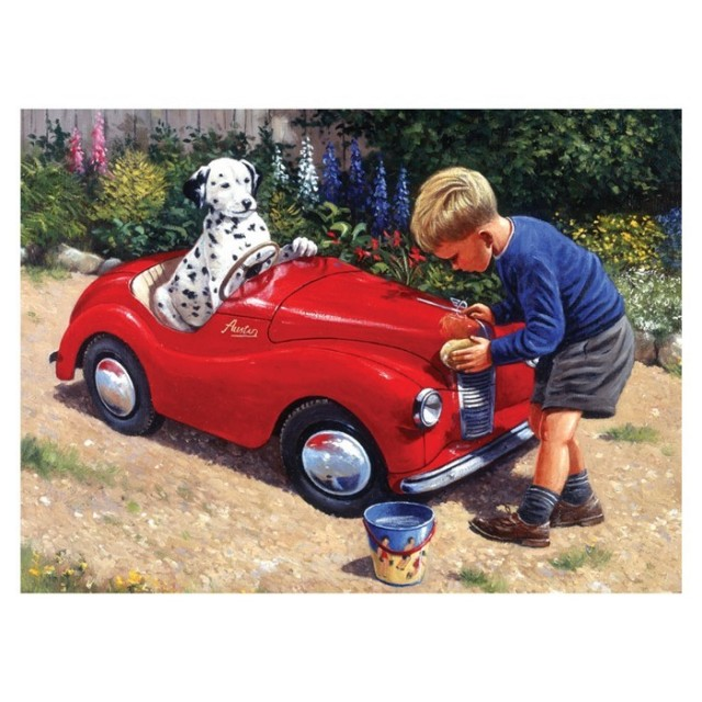 Paint By Numbers - Spots car wash