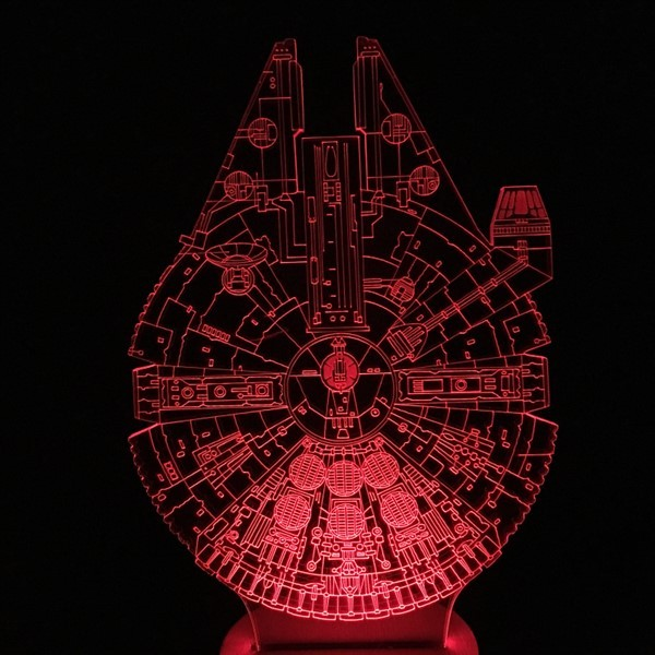 Star Wars FALCON lampe